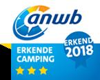 ANWB 3 star camping award 2018