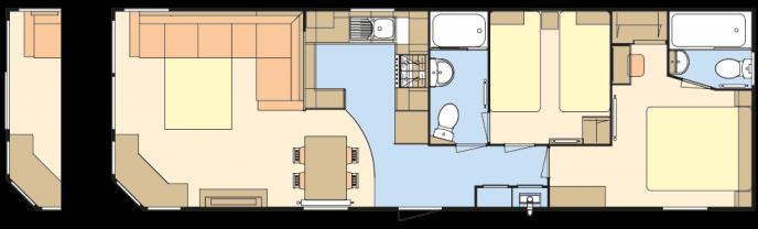 Atlas Heritage 4 (2017) holiday home floorplan
