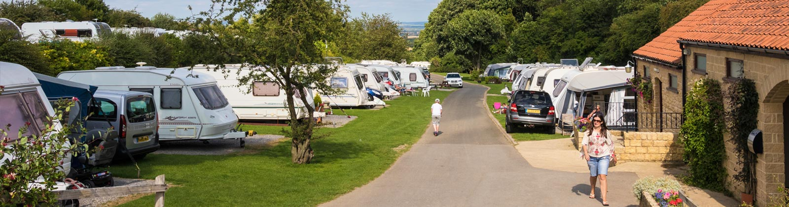 Golden Square caravan site in North Yorkshire