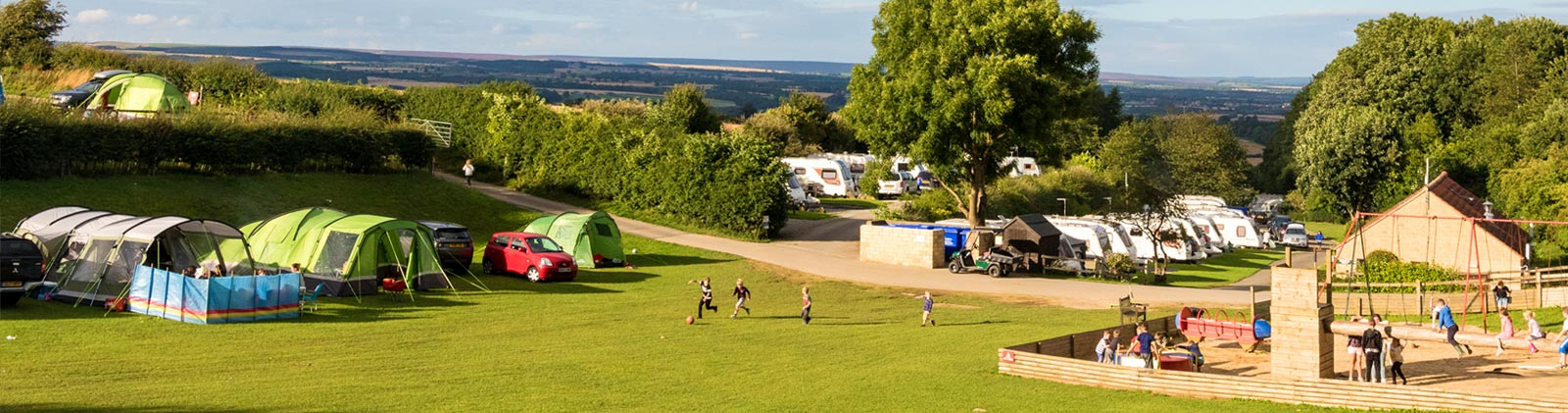 Golden Square Touring and Camping Site in North Yorkshire