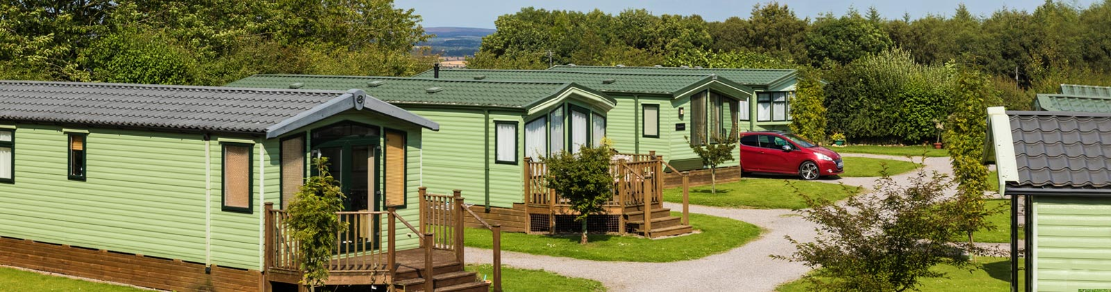 Holiday homes for sale at Golden Square holiday park in North Yorkshire
