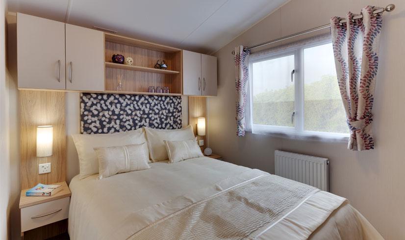 Double Bedroom of Willerby Brockenhurst Caravan for sale at Golden Square, North Yorkshire