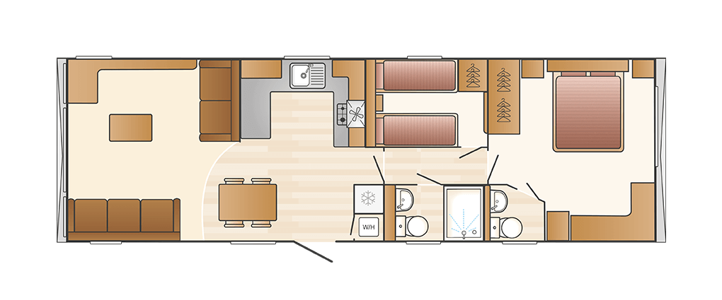 Swift Bordeaux 2020 floor plan
