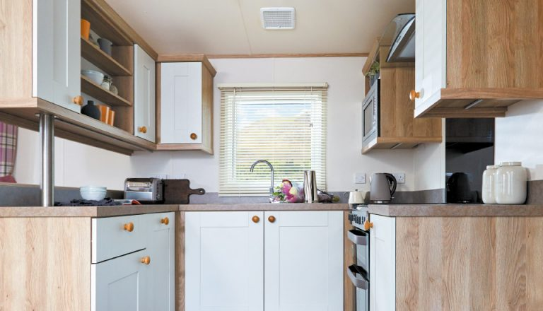 ABI St. David 2018 holiday home kitchen space